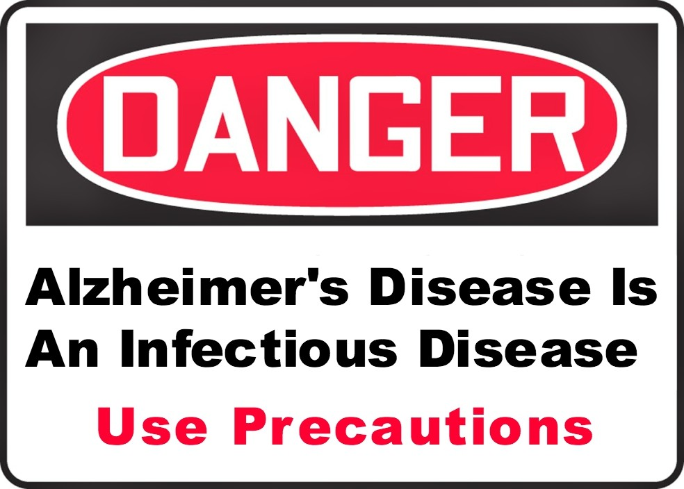 Alzheimer's disease infectious disease