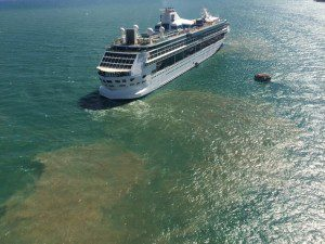 Cruise Ship Sewage Dumped At Sea